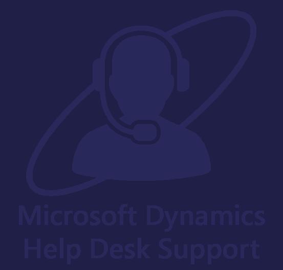 Microsoft Dynamics Support