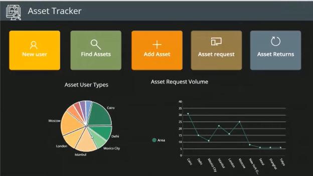 Asset Tracker PowerApp