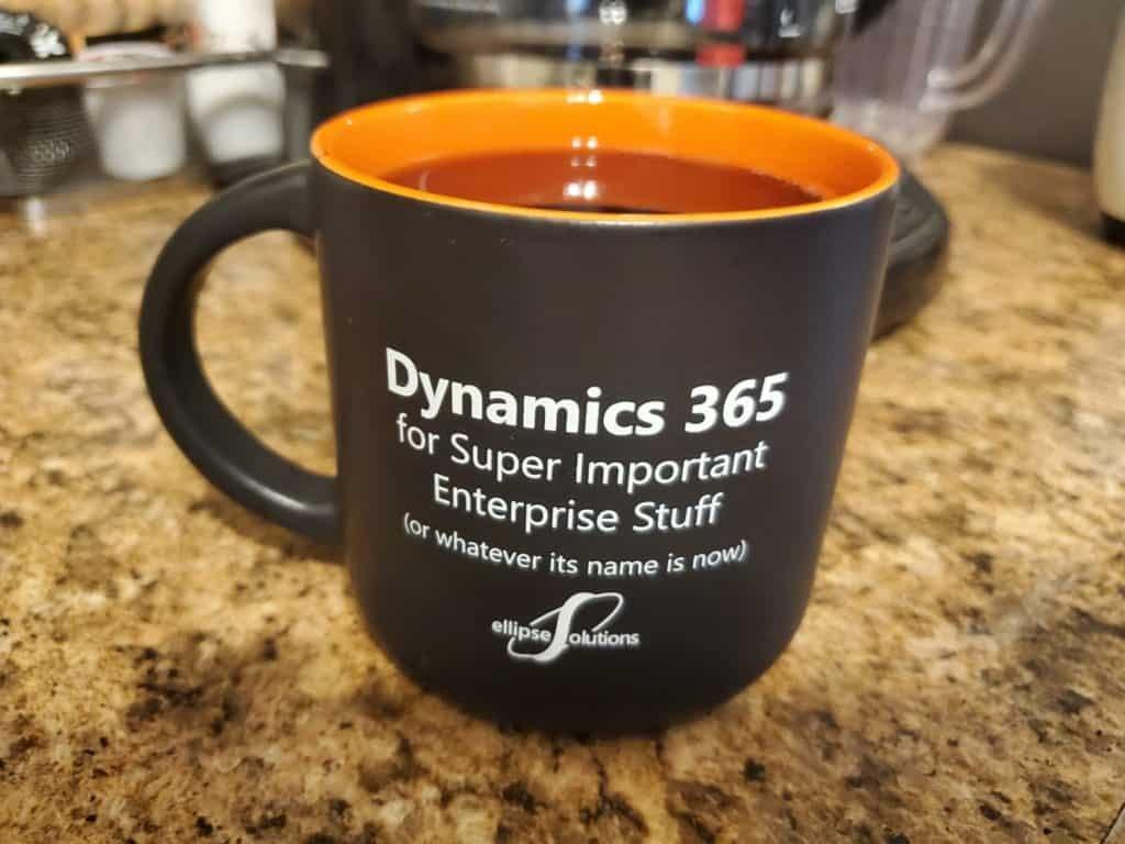 dynamics 365 licensing mug