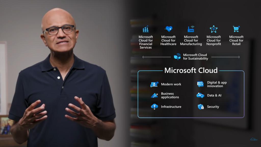Microsoft Inspire keynote satya nadella